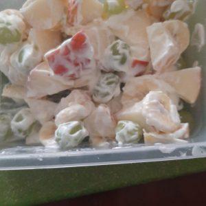 Quark-Joghurt-Obstsalat Deniz