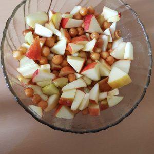 Quark-Joghurt-Obstsalat Saria